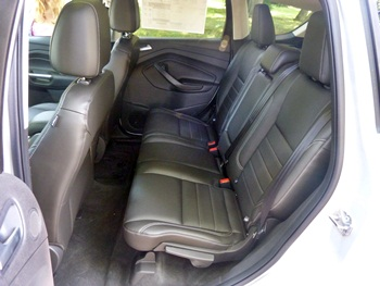 2013 Ford Escape rear seat