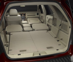 Ford Freestyle with all seats folded