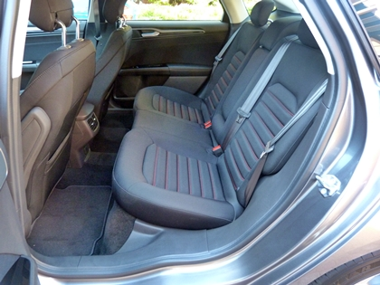 2013 Ford Fusion rear seat