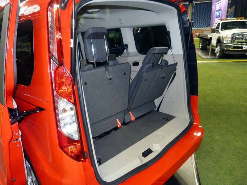 Any interest in a compact van new Ford Transit Connect  TrueDelta