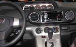 2008 Scion xB instrument panel