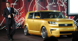Mark Templin introduces the 2008 Scion xB