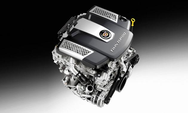 Cadillac CTS twin turbo 3.6-liter V6