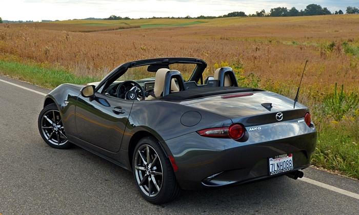 Mazdas rear quarter fields