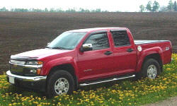 Chevrolet Colorado Specs: photograph by