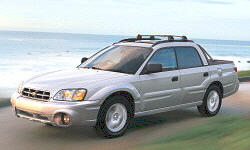 2005 Subaru Baja Gas Mileage (MPG)