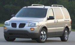 Pontiac Montana SV6 Features