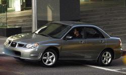 Subaru Impreza / WRX / Outback Sport Specs