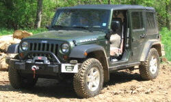Jeep Wrangler Features: photograph by