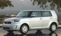 2009 Scion xB Gas Mileage (MPG)