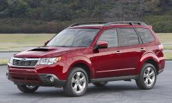 2009 Subaru Forester Gas Mileage (MPG)