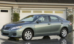 2010 Toyota Camry Gas Mileage (MPG)