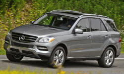 Mercedes-Benz M-Class vs. Porsche Cayenne MPG