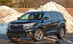 Toyota Highlander Specs: photograph by