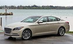 BMW 5-Series vs. Hyundai Genesis MPG: photograph by