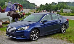 Honda Accord vs. Subaru Legacy MPG: photograph by