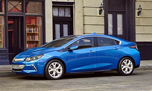 Ford Fusion vs. Chevrolet Volt MPG