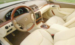 2000 Mercedes-Benz S-Class Gas Mileage (MPG)