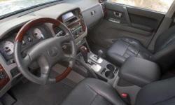 Mitsubishi Montero Features