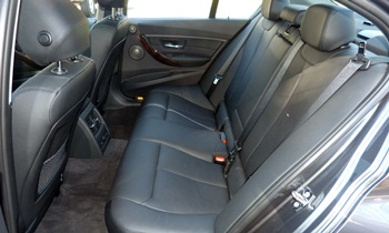 BMW 3-Series Photos: 2012 BMW 328i rear seat
