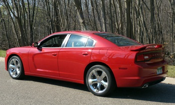 Dodge Charger Photos: 2012 Dodge Charger SXT Plus rear quarter view