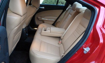 Dodge Charger Photos: 2012 Dodge Charger SXT Plus rear seat