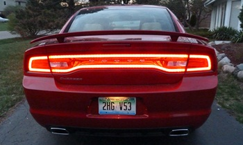 Charger Reviews: 2012 Dodge Charger SXT Plus tail lights