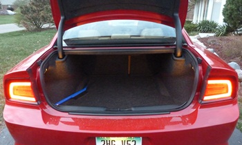 Charger Reviews: 2012 Dodge Charger SXT Plus trunk