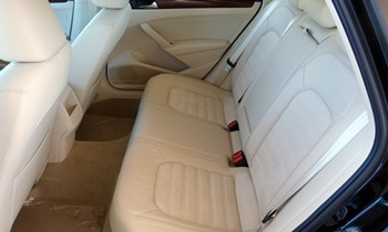 Passat Reviews: 2012 Volkswagen Passat SEL Premium rear seat