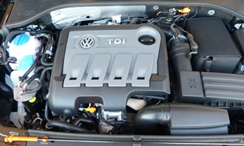 Passat Reviews: 2012 Volkswagen Passat TDI engine
