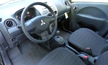 i-MiEV Reviews: Mitsubishi i-MiEV interior