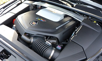 CTS Reviews: Cadillac CTS-V engine