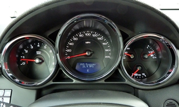 CTS Reviews: Cadillac CTS-V instruments