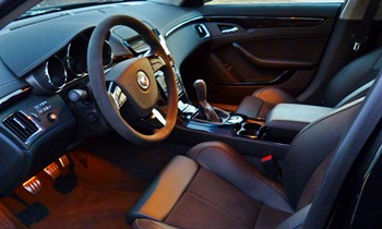CTS Reviews: Cadillac CTS-V interior