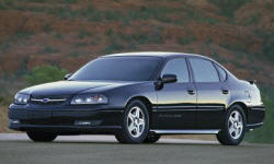 2001 Chevrolet Impala Repair Histories