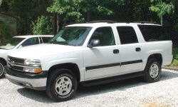 Chevrolet Tahoe / Suburban Gas Mileage (MPG): photograph by