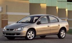 Dodge Neon Gas Mileage (MPG):
