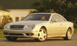 2002 Mercedes-Benz CL-Class  Problems