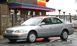 2001 - 2002 Honda Accord Reliability by Generation