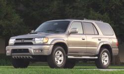 2001 Toyota 4Runner MPG ...