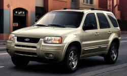 2003 Ford Escape body Problems
