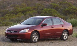2003 - 2005 Honda Accord Reliability by Generation