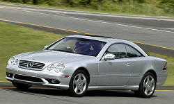 Coupe Models at TrueDelta: 2006 Mercedes-Benz CL-Class exterior