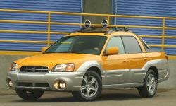 Subaru Baja Gas Mileage (MPG):