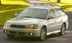 2000 - 2004 Subaru Legacy Reliability by Generation