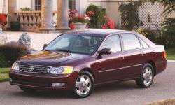 2003 Toyota Avalon MPG ...