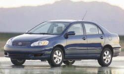 2003 Toyota Corolla Repair Histories