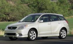 Toyota Matrix Gas Mileage (MPG):