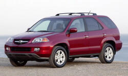 2005 Acura MDX Repair Histories