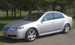 Acura TL Specs: photograph by